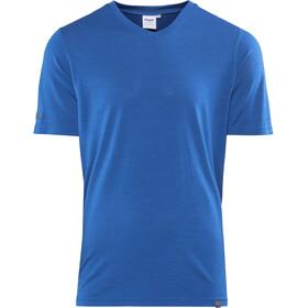 Bergans Bloom Bluzka z krótkim rękawem Mężczyźni niebieski